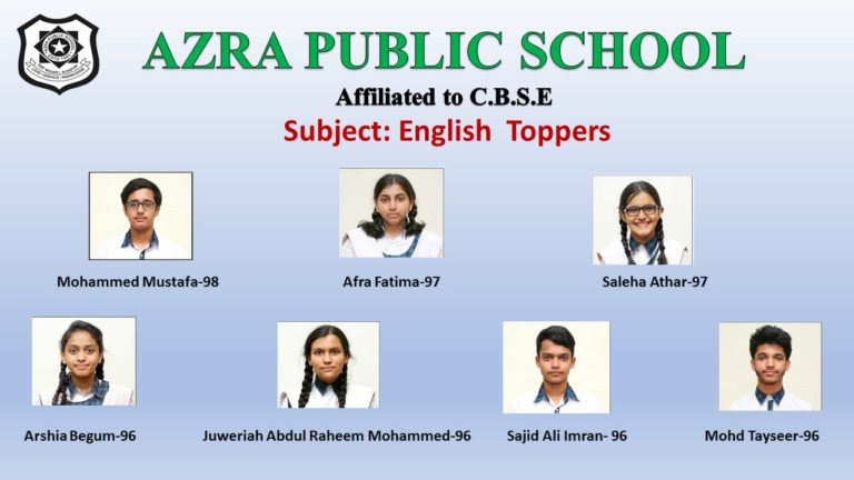 English Toppers
